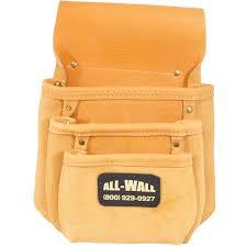 3 pocket nail pouch