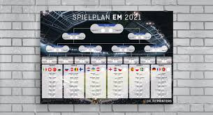Når em 2021 løber af stablen fra juni til juli 2021, bliver det med mindst et spritnyt fænomen, der aldrig tidligere er set. Europameisterschaft 2021 Spielplane Viele Info S