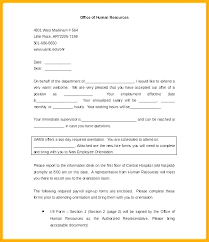 Hiring Email Template Termination Letter Introduction Email To