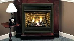 corner ventless fireplace corner ventless electric fireplace