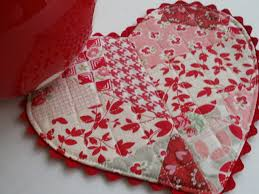 featuring heart shaped mug rugs