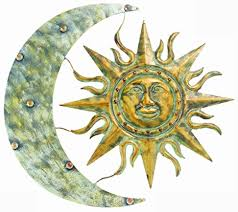 gardman 8415 aztec sun and moon wall art 26 quot  on aztec sun moon metal wall art by gardman with amazon gardman 8415 aztec sun and moon wall art 26 long x 24