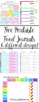 Food And Exercise Diary Printable Food Diary Log Ethercard Co