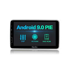 Dasaita 10.2 inch Rotatable Large Screen Double Din <b>Android 9.0</b> ...