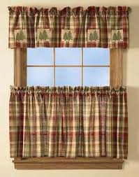 inspiring red and tan curtains and red checked curtains red tan and green plaid curtains crafts