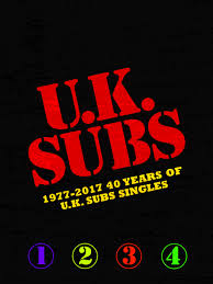 Cd Chart Singles To Buy 1977 2017 40 Years Of Uk Subs Singles