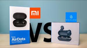 Watch This Before You Buy Redmi AirDots! - Xiaomi vs <b>Haylou GT1</b> ...