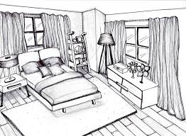 Simple Bedroom Drawing Tagse 3116 How To Draw Easy For And Modern Ideas