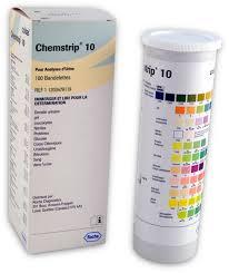 Roche Chemstrip 10 Color Chart Roche 11203479119 Chemstrip 10 Urine Test Strips 100 Bottle