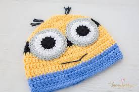 Minion Hat Crochet Pattern Interesting Crochet Minions Beanie Free Pattern Loganberry Handmade