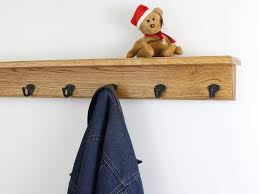 Coat Rack Oak