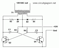 inverter circuit page 2 power supply circuits next gr basic inverter