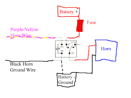12 volt horn relay wiring diagram images horn car besides horn relay wiring diagram on car horn wiring diagram
