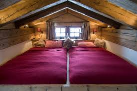 Mezzanine Bedroom Chalet Nyumba Verbier O Alpine Guru