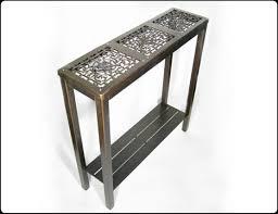 narrow hall console table. Three Cycled Hall Console Table Flickr Photo Sharing Slim Narrow