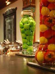 Decorative Pepper Bottles decorative bottles with fruits and vegetables a nice idea for a 30
