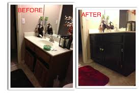 Refinish Bathroom Vanity Cabinet, Refinishing my guest bathroom ...