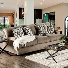 style design furniture. Sheila Transitional Modern English Style Velvet Sofa By Furniture Of America Style Design Furniture