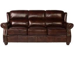 lazzaro leather wh 1418 30 3338 oakwood sofa in rustic savauge