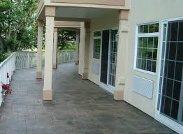 cement patio flooring ideas outdoor deck floor covering ideas