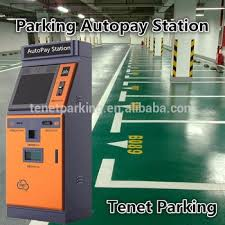 Parking Vending Machine Amazing Tenet Payment Kiosk Auto Pay Car Park System For Ticket Card