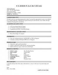 Vita Resume Template Curriculum Vitae Resume Format Cv Resume Inside