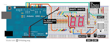 arduino masterclass part 2 build an led weather station apc the wiring diagram for our led weather station