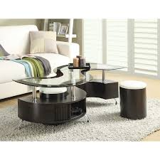 3 Piece Living Room Table Set Wade Logan Jonathan 3 Piece Coffee Table Set Reviews Wayfair