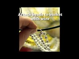 make a beaded chandelier for 10