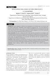 intersial ectopic pregnancy