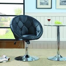 makeup vanity chair swivel bedroom living room office table desk furniture black