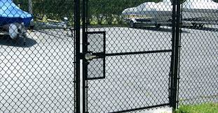 chain link fence gate lock. Chain Link Fence Gate Latch Door Tennis Court Security With Lock Box Chain Link Fence Gate Lock