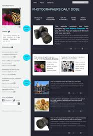 Photography Website Templates Classy Photography Free HTML Website Templates