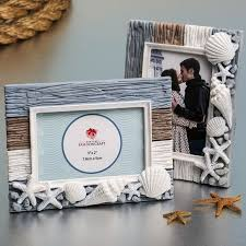 fashioncraft beach themed photo frame adorned with white seas personalized gifts and party favors