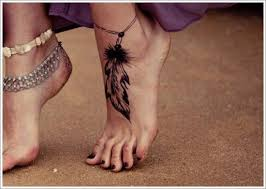 Dream Catcher Foot Tattoos 100 Amazing Dreamcatcher Tattoos and Meanings 31