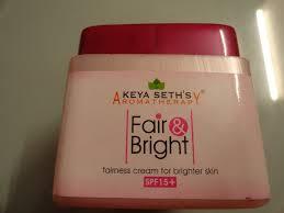 keya seth fair and bright cream