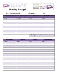 monthly basic budget worksheet - April.onthemarch.co
