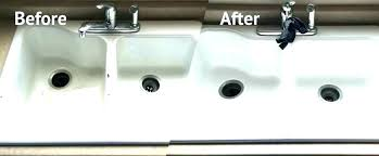 cast iron sink refinish kitchen sink refinish appliance refinishing affordable painting