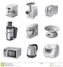 Of Kitchen Appliances Kitchen Appliances Icon Set Stock Photography Image 30831522