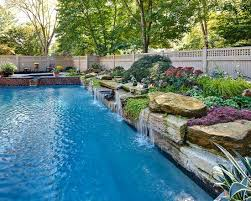 Wet Wild Waterfalls For Your Pool Dig This Design
