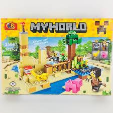 Đồ Chơi Lego Xếp Hình, Lắp Giáp. Lego My World Ghép hình thông minh cho bé  trai giảm chỉ còn 85,000 đ