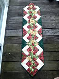christmas table runners s amazon uk red runner and placemats holiday patterns free