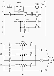wiring diagram for plc images relay circuit and b wiring diagram of a reduced voltage start motor