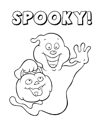 Coloring Pages Halloween Ghost 2084725