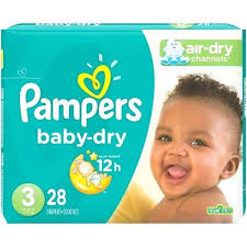 Diaper Sizes Chart By Age Pampers Diapers