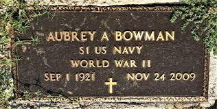 Aubrey Bowman (1921-2009) - Find A Grave Memorial
