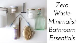essentials home. ZERO WASTE MINIMALIST BATHROOM ESSENTIALS | Home Made + Shop Bought Essentials