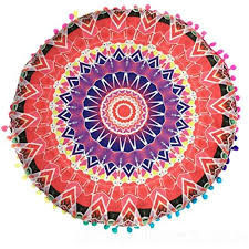 outdoor cushion cover bsgsh indian mandala floor pillows round bohemian cushion cushions pillows cover case indian bohemian ottoman poufs for sofa couch