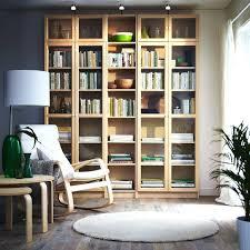 ikea bookcase with doors glass bookshelves showroom billy glamorous kallax shelf ikea bookcase with doors glass
