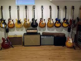 wooden guitar wall mount
